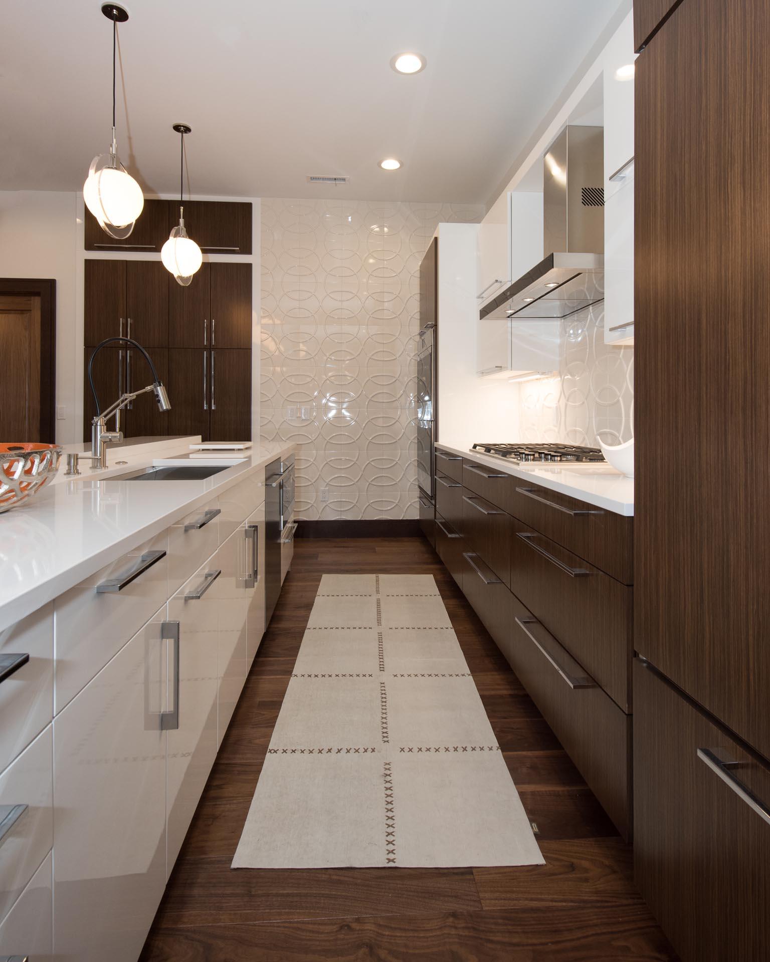 Mid-Century Modern Kitchen Design | H Residence | Midland, MI