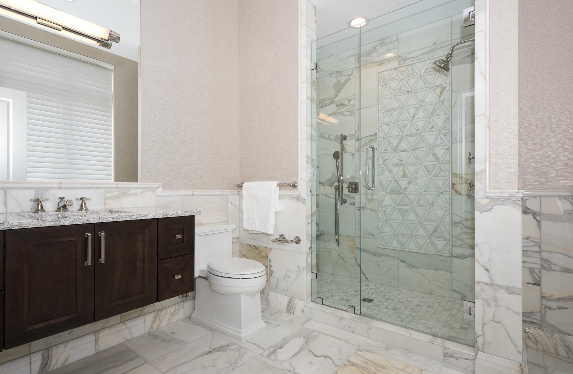 Condo Shower Design | H Residence | Midland, MI