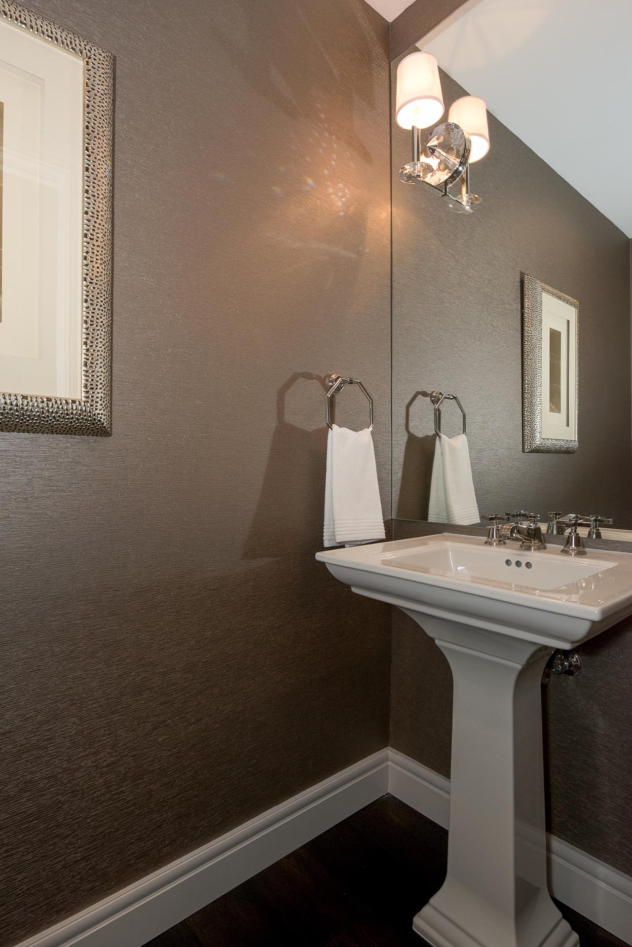Condo Bathroom Sink Design | H Residence | Midland, MI