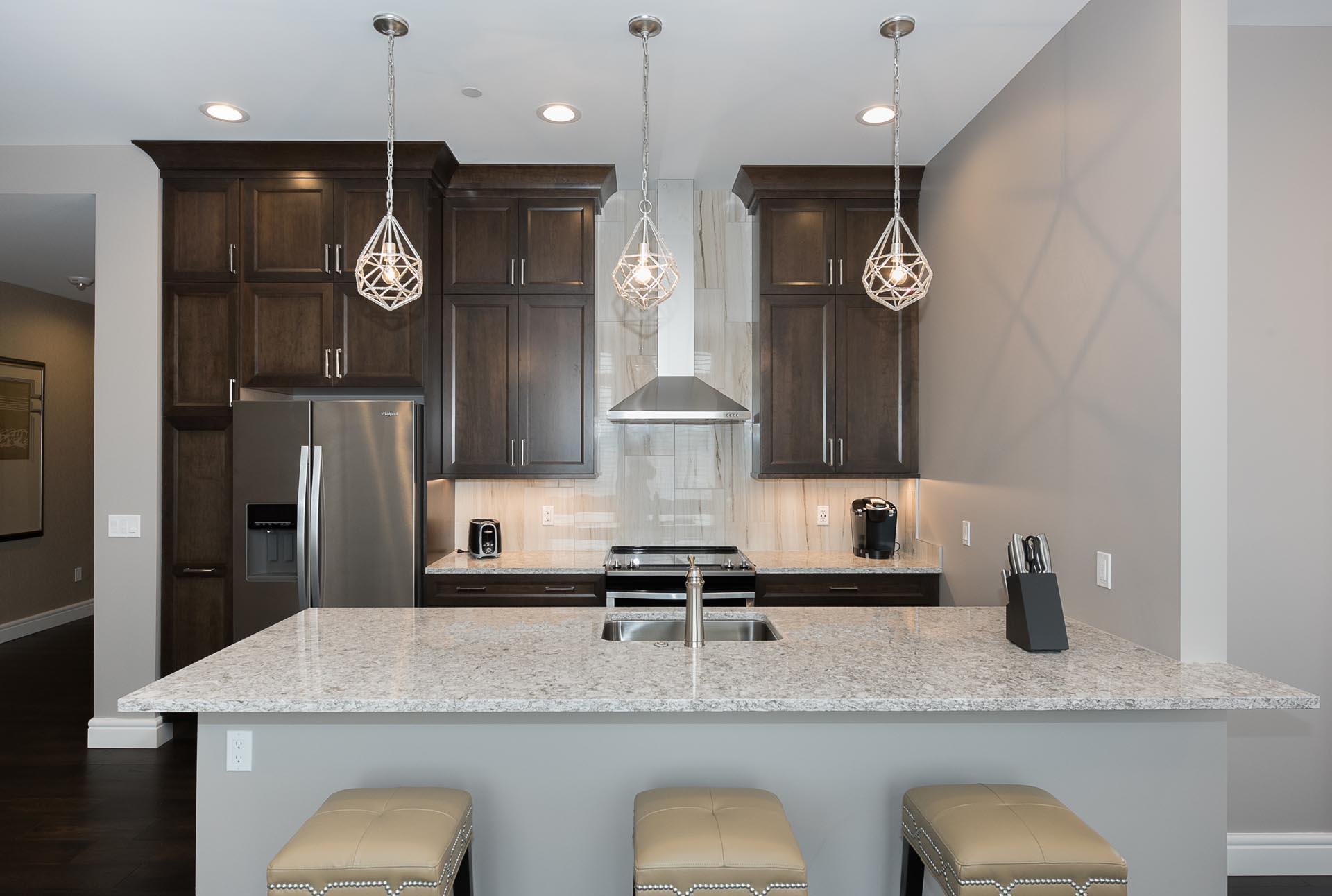 Condo Kitchen Design | H Residence | Midland, MI