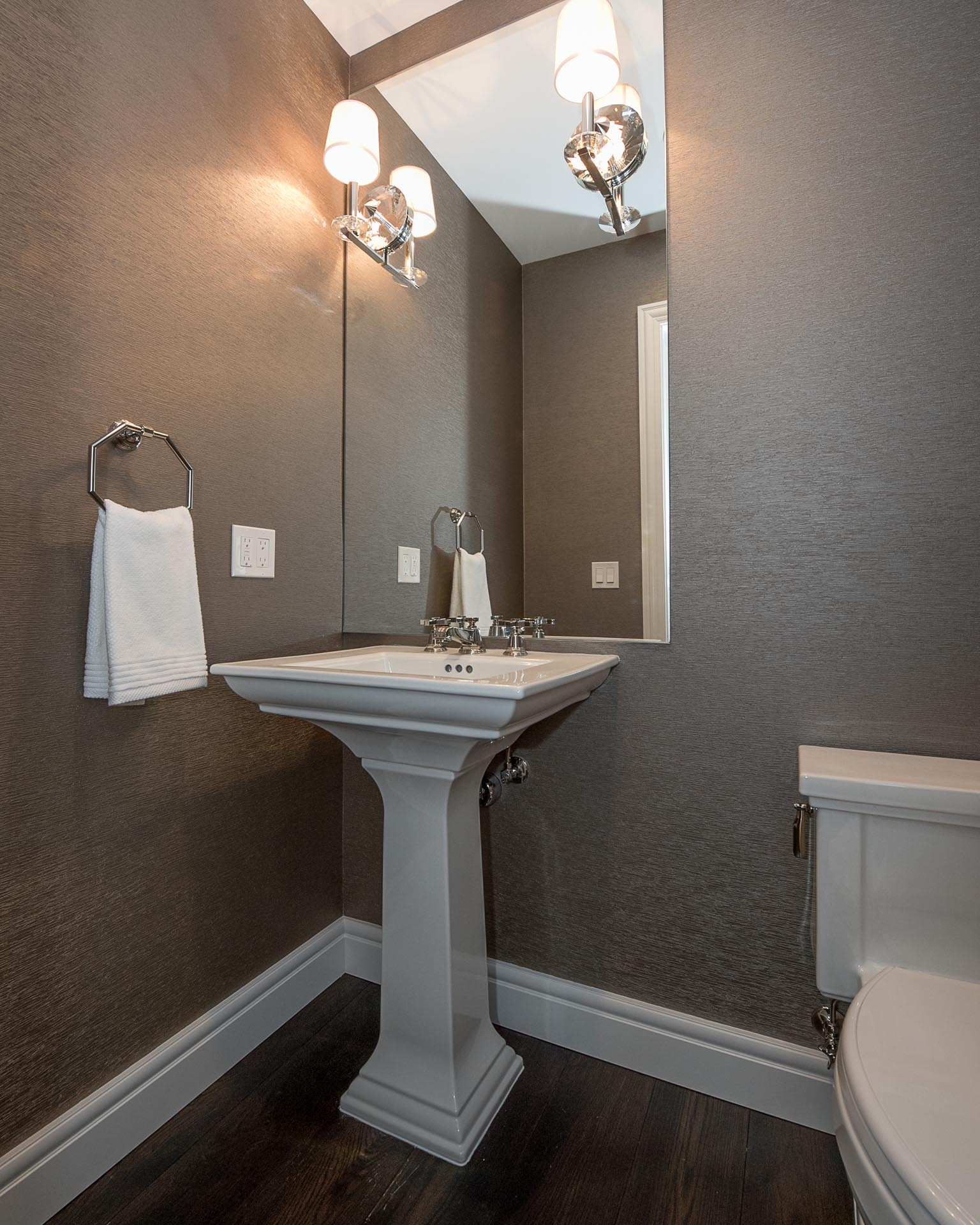 Condo Bathroom Faucet Design | H Residence | Midland, MI