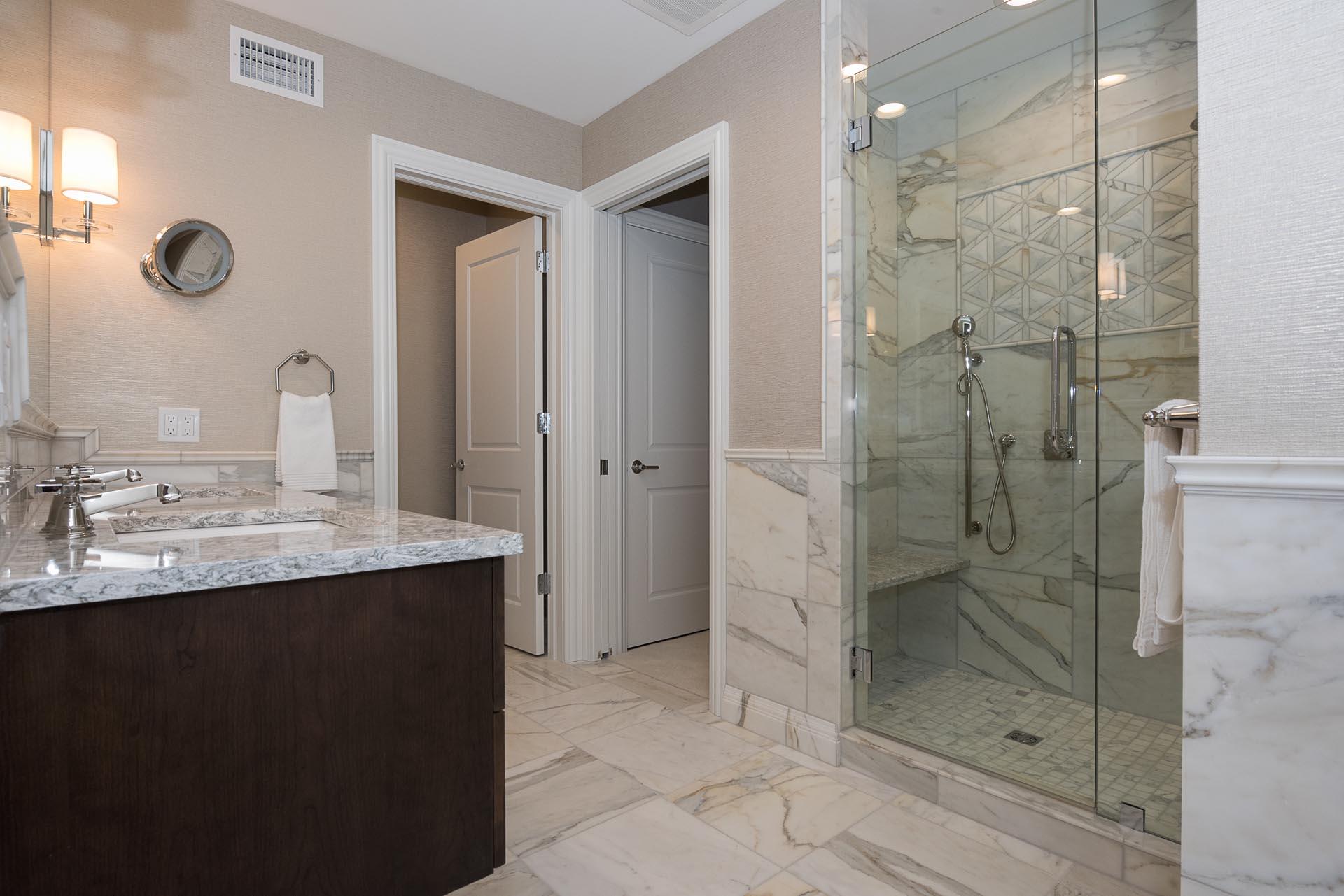 Condo Bathroom Design | H Residence | Midland, MI