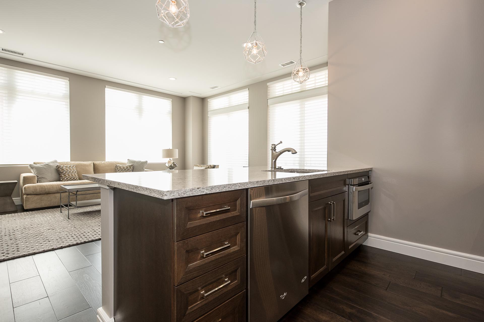Kitchen Sink and Faucet | H Residence | Midland, MI