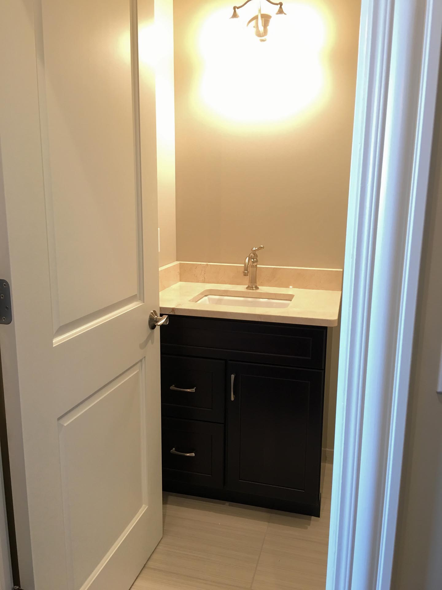 Bathroom Sink and Faucet | H Residence | Midland, MI