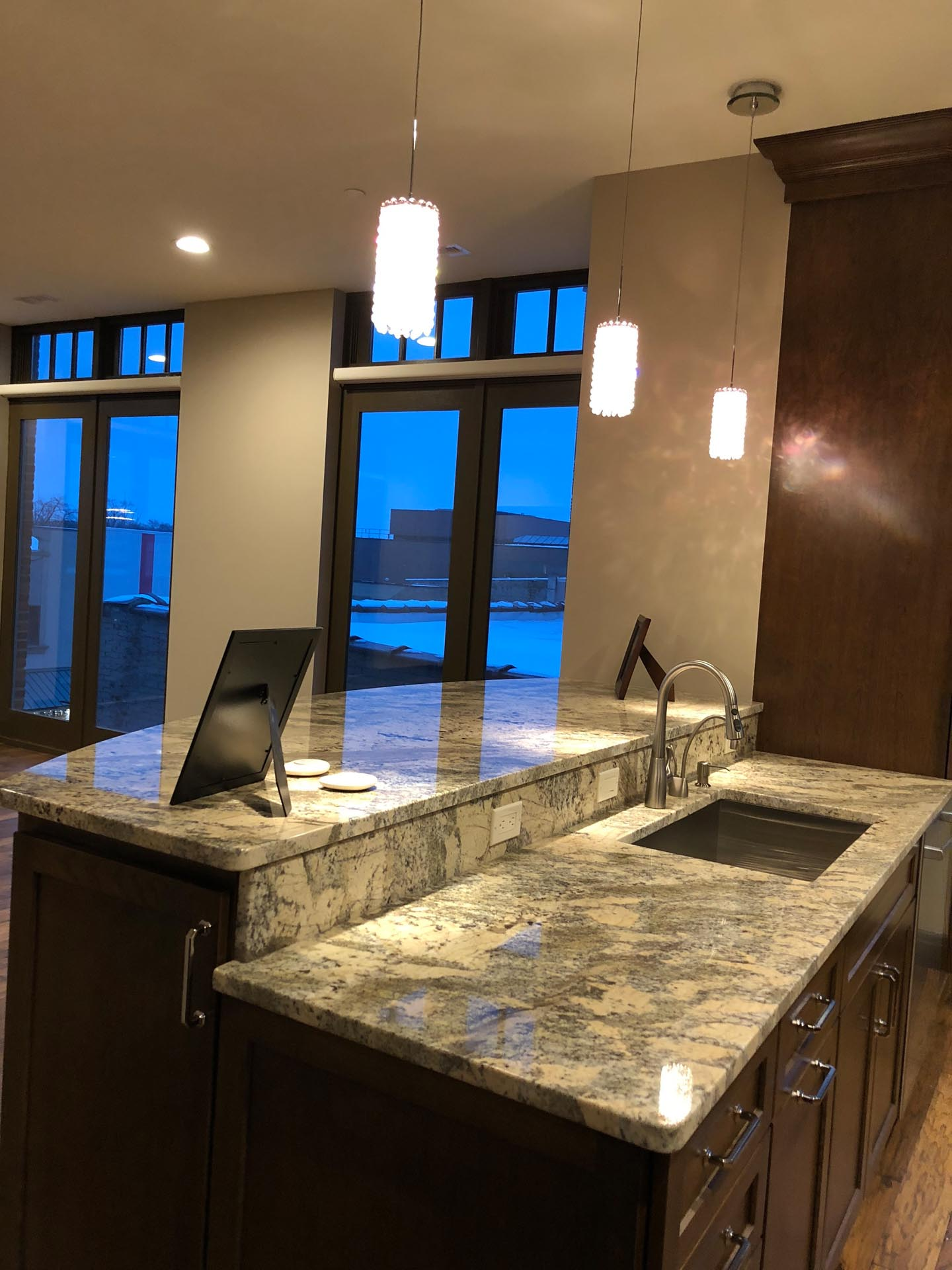 New Kitchen Sink Design | H Residence | Midland, MI
