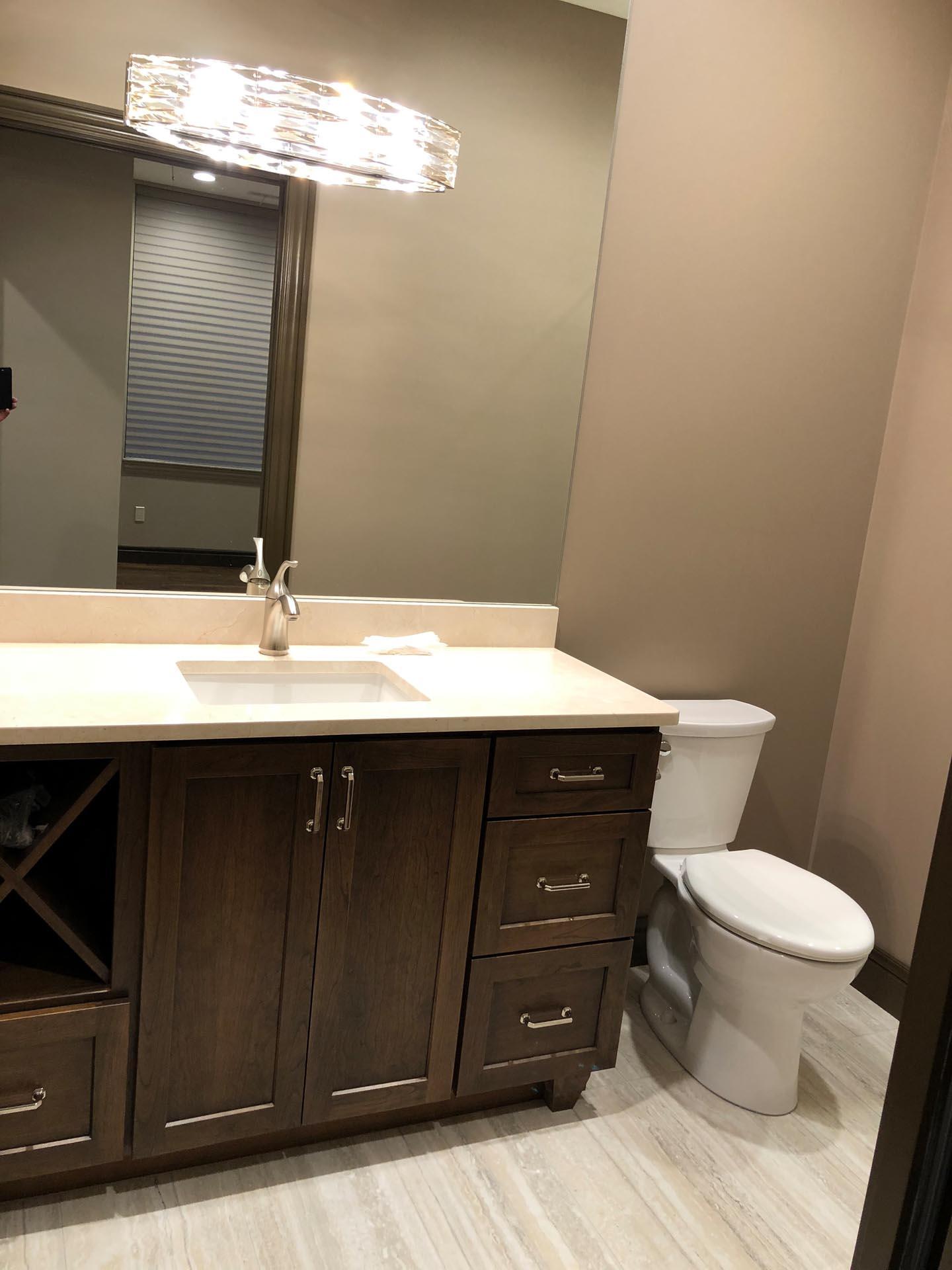 New Bathroom Design | H Residence | Midland, MI