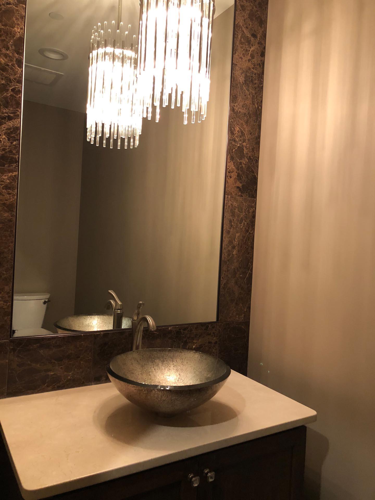 New Bathroom Sink Design | H Residence | Midland, MI