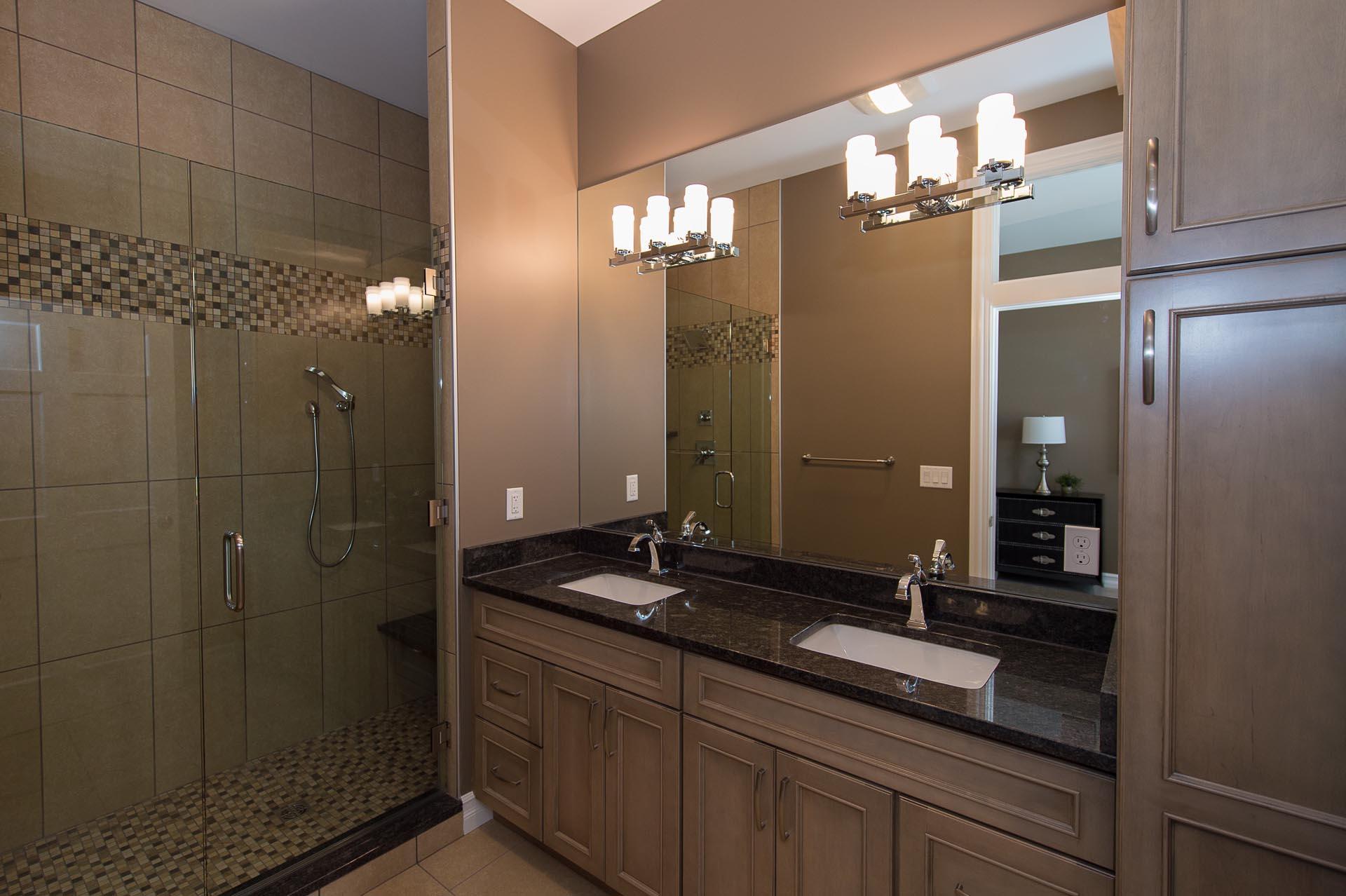 Shower and Bathroom Sink | 117 East Main St | Midland, MI