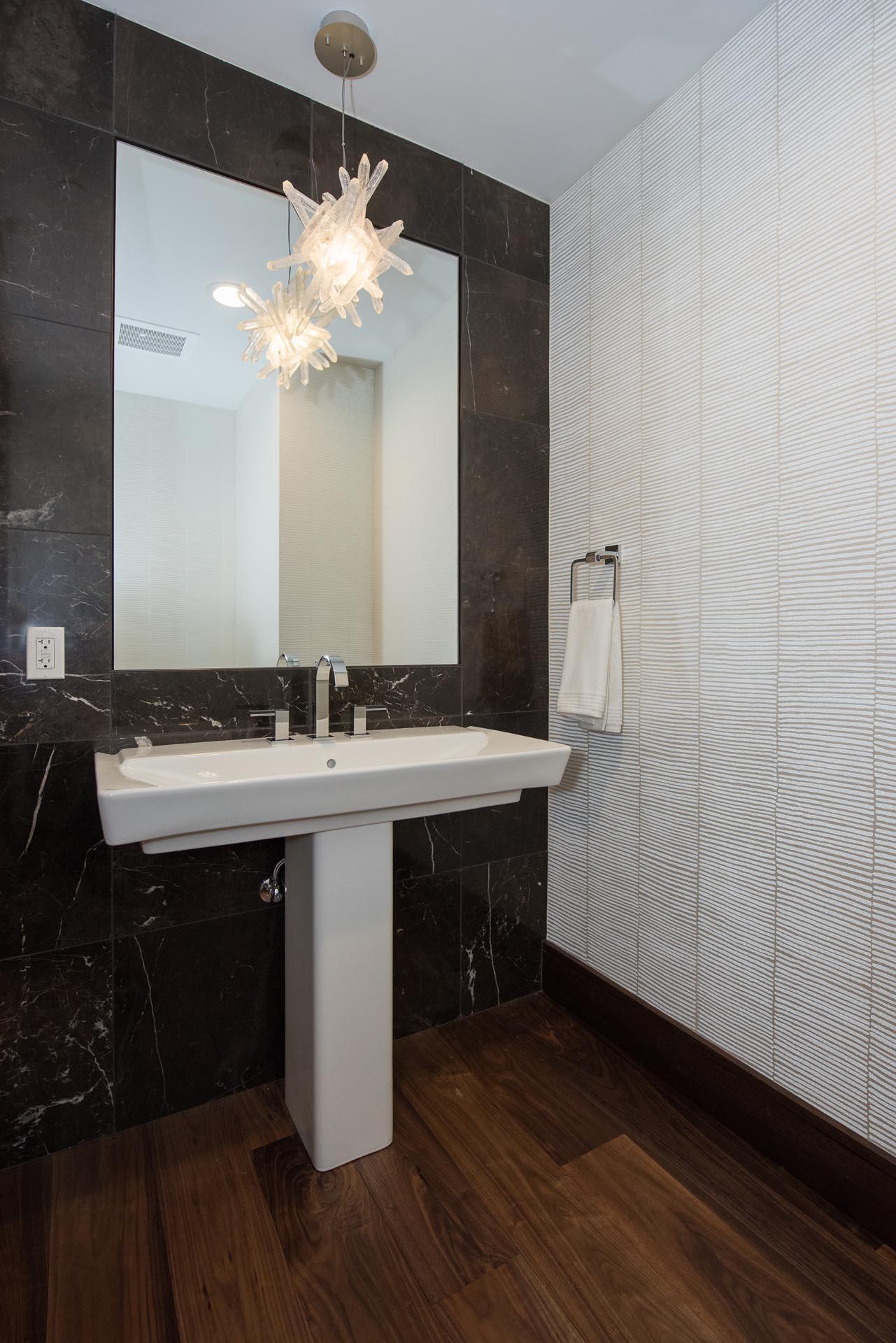 Bathroom Sink Design | H Residence | Midland, MI