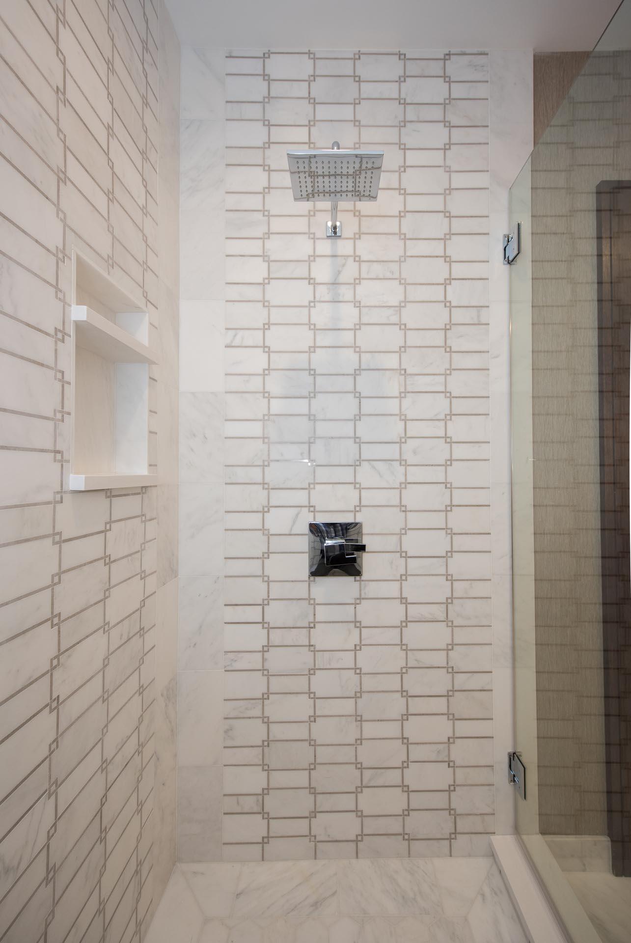 Shower Design | H Residence | Midland, MI