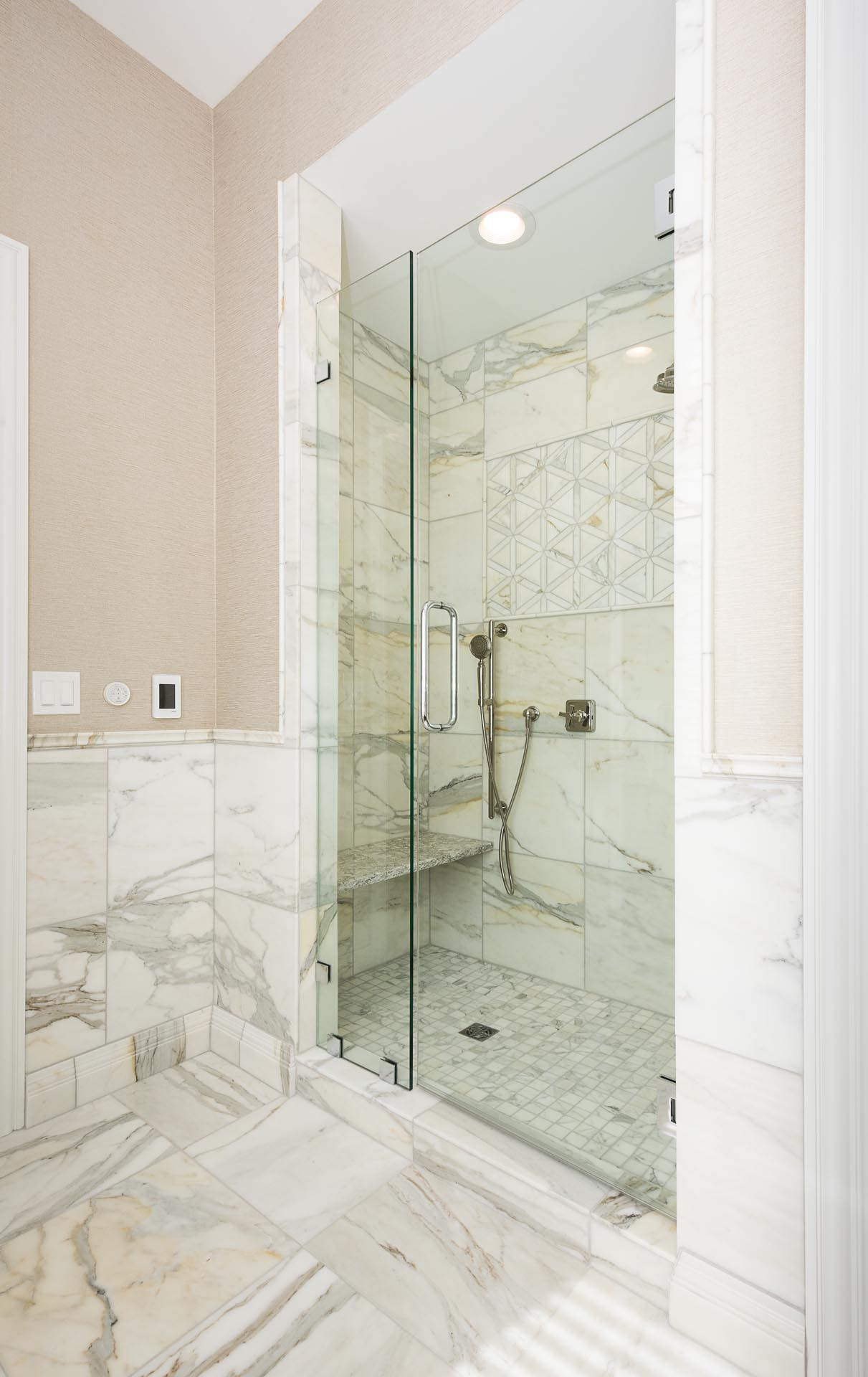 Walk-In Shower | H Residence | Midland, MI