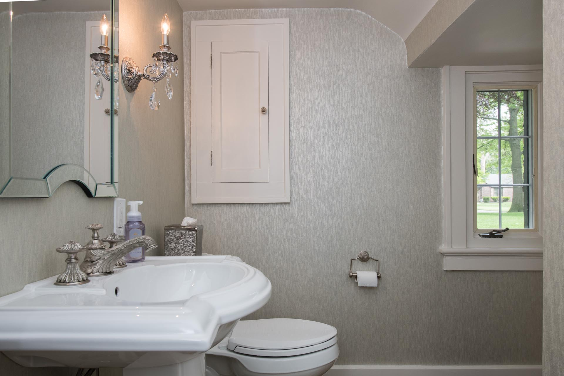 Faucet, Sink, and Toilet | Bathroom Renovation | Saginaw, MI